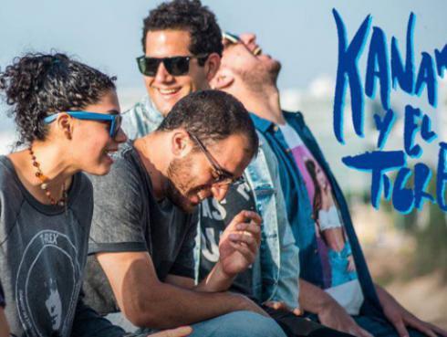Banda nacional 'Kanaku y El Tigre' nominados a  los 'Premios Shock' en Colombia