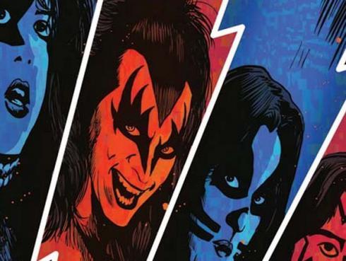 ¡Kiss regresa a los cómics!