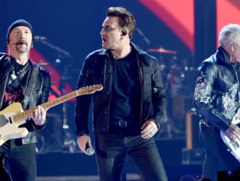 ¿Cuántos MTV EMAs tiene U2?
