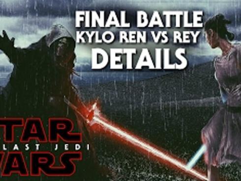 La escena de 'Star Wars 8' en que Rey conoce quién es su padre habría sido filtrada [VIDEO]