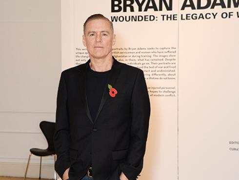 La faceta poco conocida de Bryan Adams