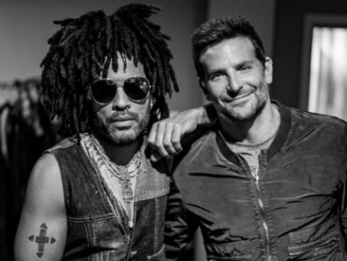 Mira qué actor de Hollywood acudió al concierto de Lenny Kravitz