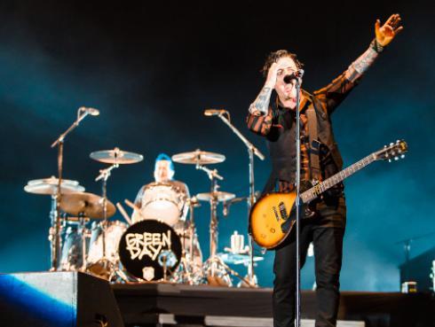 La inédita fotografía de Green Day en su primer tour por Europa