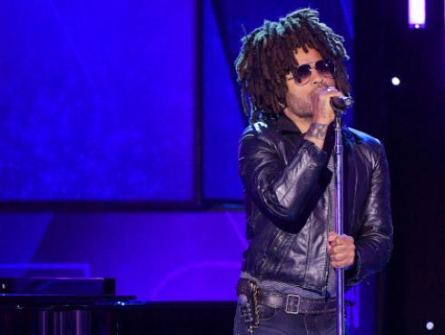 Lenny Kravitz agradeció a los fans por un 2018 especial