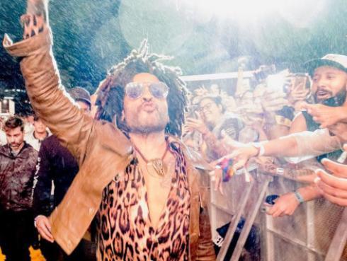 """Lenny Kravitz se despide de Sudamérica: """"Estoy eternamente agradecido"""" [VIDEO]"""