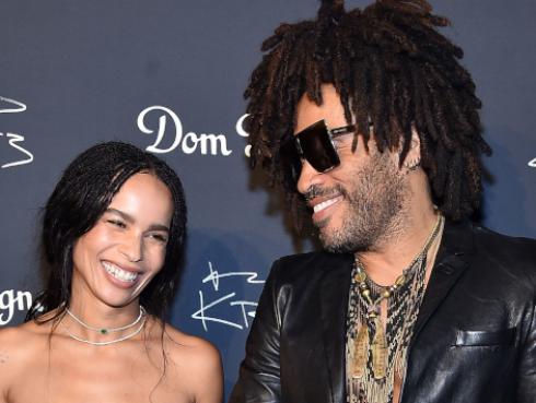 Mira la sensual portada que protagoniza la hija de Lenny Kravitz