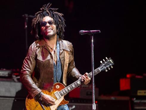 Lenny Kravitz sufrió desperfecto técnico en el Lollapalooza de Chile