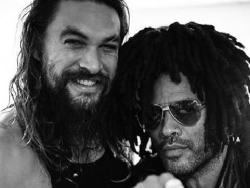 """Lenny Kravitz y su relación con Jason Momoa: """"Es como un hermano para mí"""""""