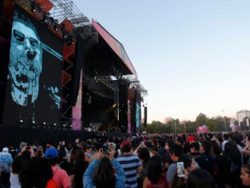 Liam Gallagher abandonó el escenario en Lollapalooza Chile [VIDEO]