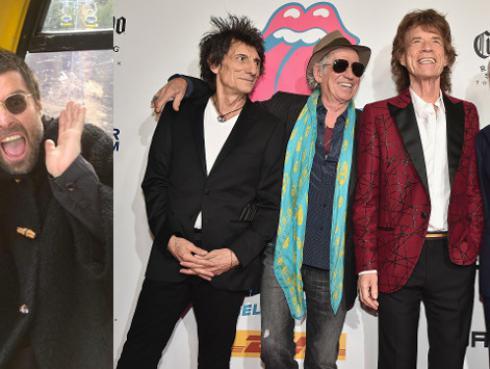 Liam Gallagher será telonero en gira de The Rolling Stones