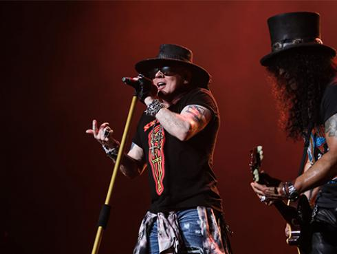 Lollapalooza 2020: confirman participación de Guns N' Roses en el evento musical