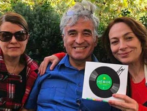 Jorge González, exvocalista de Los Prisioneros, presentó su autobiografía