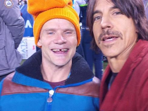 Los Red Hot Chili Peppers y John Frusciante están trabajando en un nuevo álbum