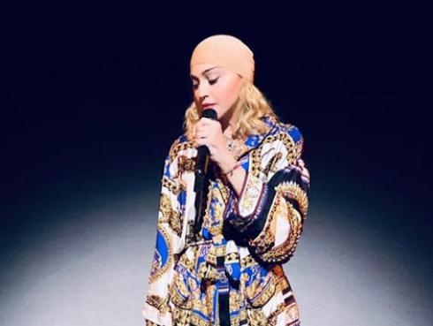 """Madonna cancela conciertos por un dolor """"abrumador"""""""