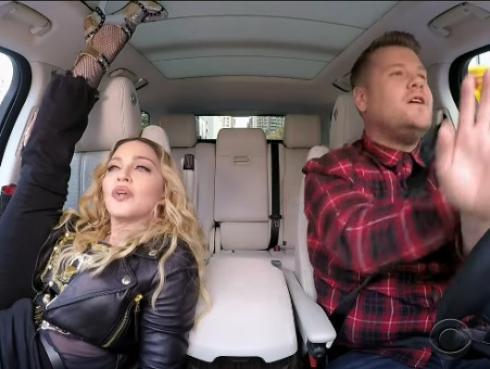 Madonna y su sensual 'twerking' en el 'Carpool Karaoke' [VIDEO]