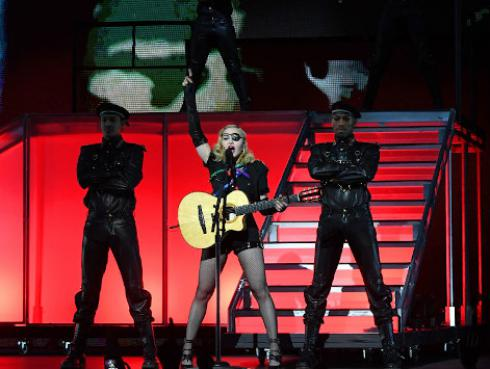 Madonna critica a Estados Unidos en el Día de la Independencia