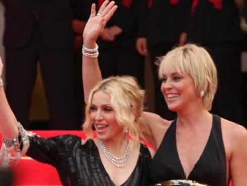 La respuesta de Sharon Stone a Madonna después que la llamara