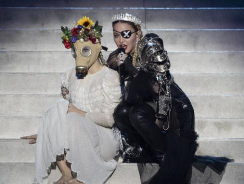 Madonna denuncia censura durante uno de sus conciertos en Londres