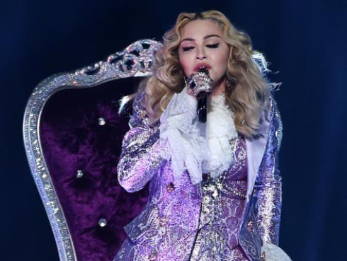Madonna se presentó junto a su hijo David en Año Nuevo [VIDEO]