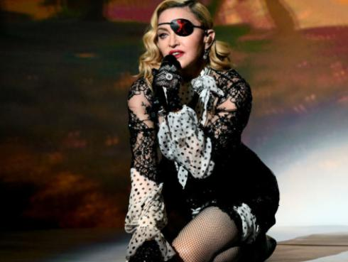 Madonna publicó adelanto de su nuevo video 'God control'
