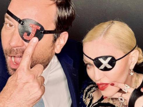 Madonna se presentó en el show de Jimmy Fallon