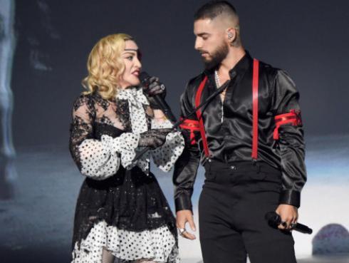 Madonna vuelve a unirse con Maluma para el tema 'Bitch I'm Loca'