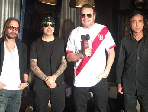 Maná promete hacer cantar y bailar a fans peruanos
