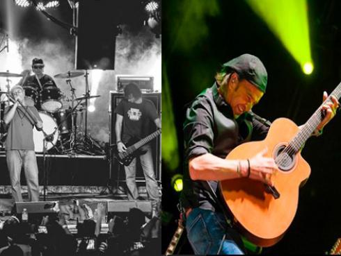 Los Secretos y Mar de Copas se lucieron juntos en concierto [FOTOS]