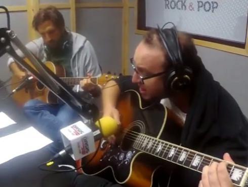 #Fogatera: El Marshall y Piccini interpretaron 'Landslide', de Fleetwood Mac