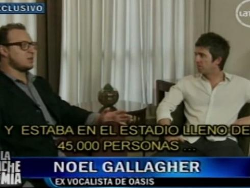 El día que El Marshall entrevistó a Noel Gallagher [VIDEO]