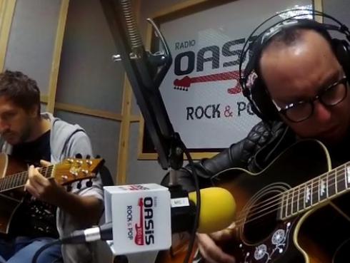 #Fogatera: El Marshall y Piccini interpretaron 'Contigo', de Joaquín Sabina