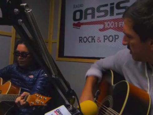 #Fogatera: Marcello Motta y Piccini interpretaron 'Miss You', de los Rolling Stones