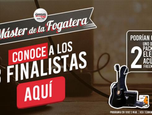 'Máster de la Fogatera': ¡Ellos son los finalistas!