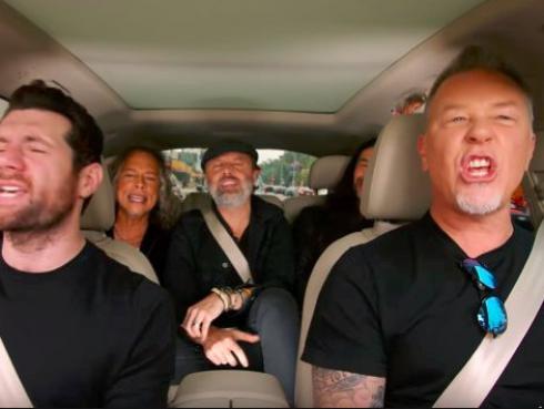¡Metallica como nunca lo viste! Se pusieron a cantar temas de Disney [VIDEO]