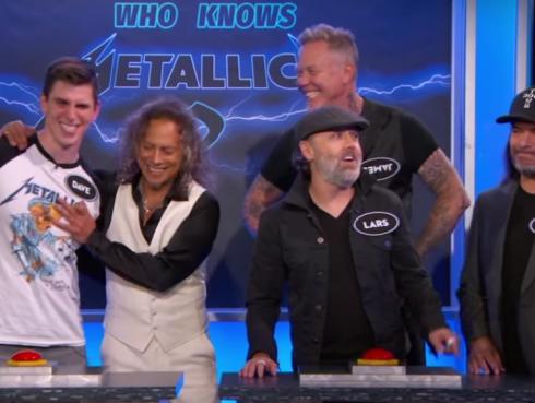 ¿Quién sabe más sobre Metallica? ¿Un fan o el propio grupo? ¡Ni te imaginas! [VIDEO]