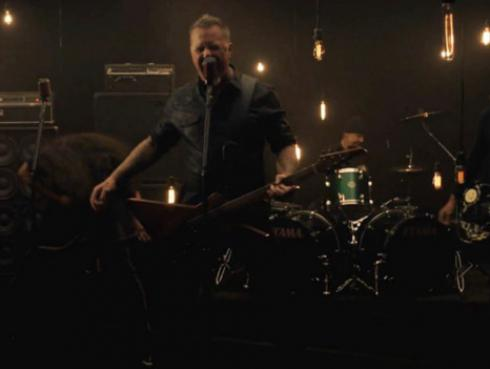 ¡Metallica presentó videoclip de 'Moth into flame'! [VIDEO]