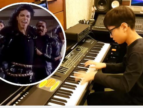 Niño de 13 años causa furor con su versión en piano de 'Bad' de Michael Jackson [VIDEO]