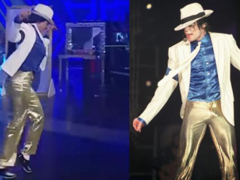 ¿Qué tal esta imitación de 'Smooth Criminal' de Michael Jackson? [VIDEO]