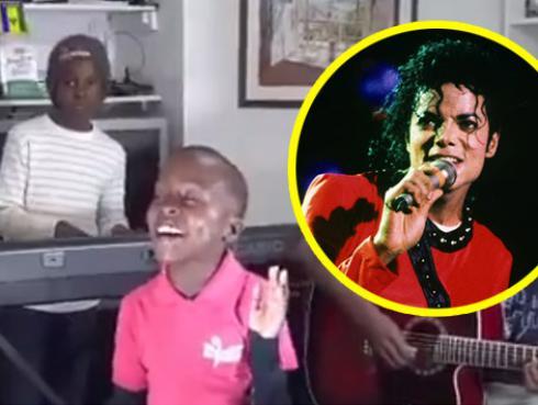 ¿Michael Jackson reencarnado? Este niño canta igual que él a su edad [VIDEO]