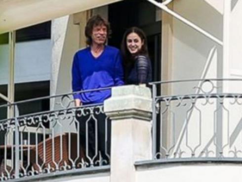 Mick Jagger se convirtió en padre por octava vez a sus 73 años