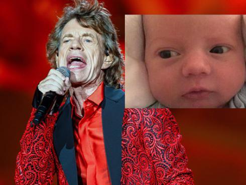 Revelan nombre del octavo hijo de Mick Jagger [FOTO]