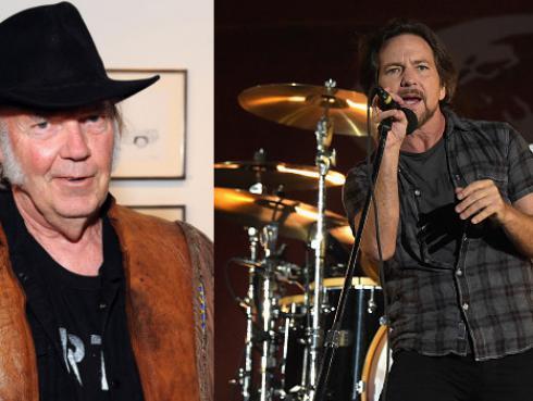 Neil Young dará discurso por ingreso de Pearl Jam al Salón de la fama del rock & roll