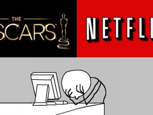 Netflix y su 'desaparición' durante la ceremonia de los Oscar