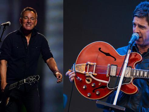 Noel Gallagher reconoció no ser tan fanático de Bruce Springsteen