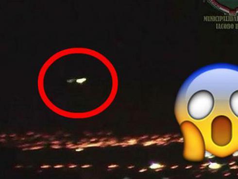 ¡¡Cámaras de seguridad habrían captado un OVNI sobrevolando Arequipa!! [VIDEO]