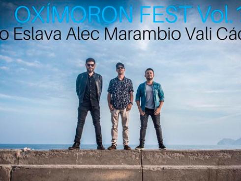 OXIMORON FEST VOL I: Alec Marambio, Vali Cáceres y Diego Eslava