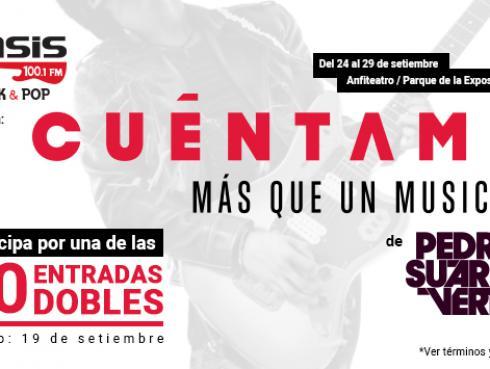 ¡Estos son los ganadores de entradas para 'Cuéntame', el espectáculo musical de Pedro Suárez-Vértiz!