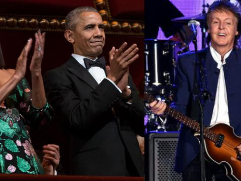 Paul McCartney, Bruce Springsteen y más en fiesta de despedida de Obama