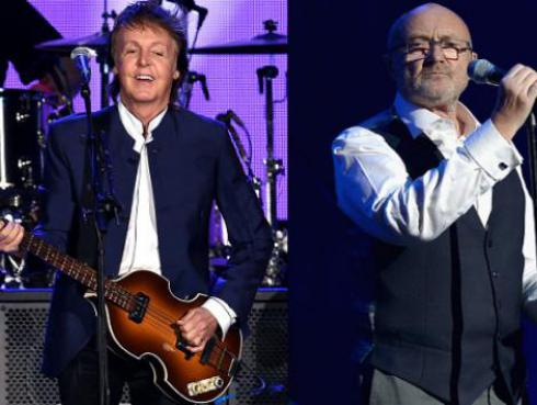 ¡La respuesta de Paul McCartney a Phil Collins tras enterarse que lo odia!