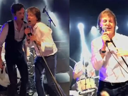 The Killers y Paul McCartney interpretaron 'Helter Skelter' de The Beatles [VIDEO]